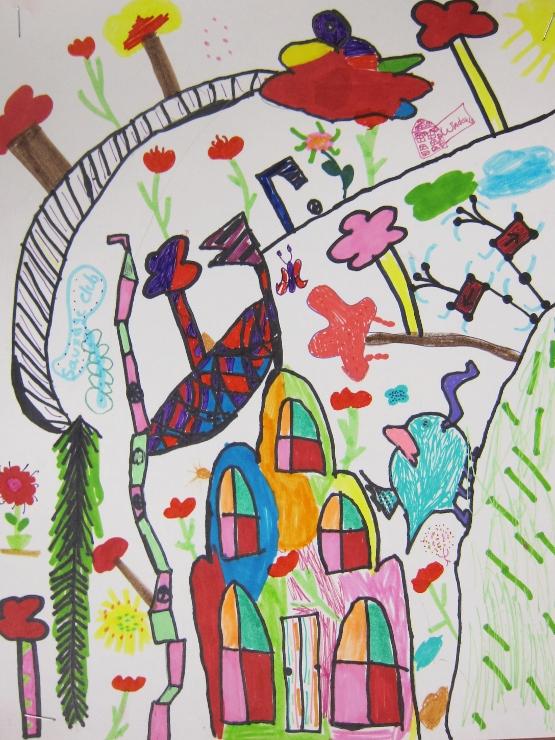 Dr Seuss Inspired Art Project (8)