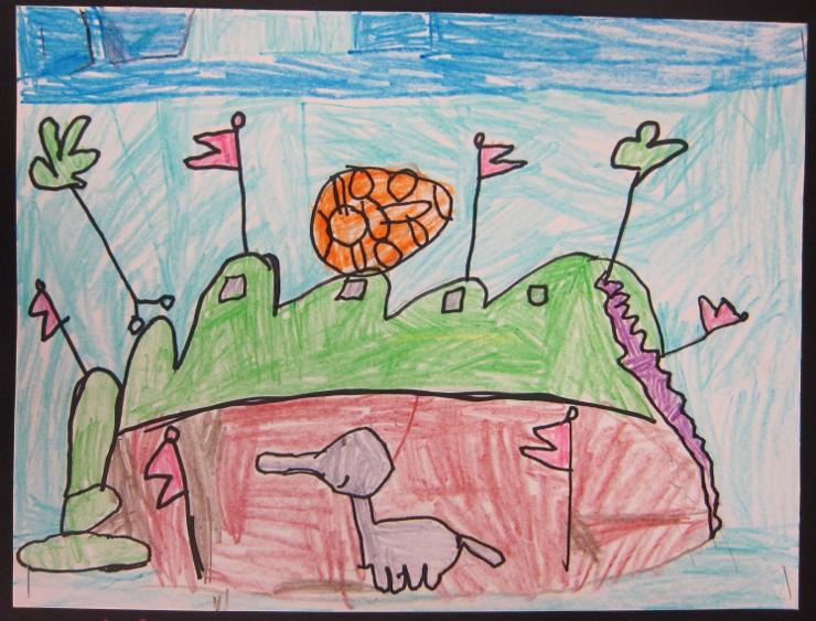 Dr Seuss Inspired Art Project
