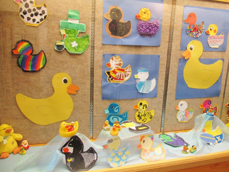 Rubber Ducky Art Project For Kids