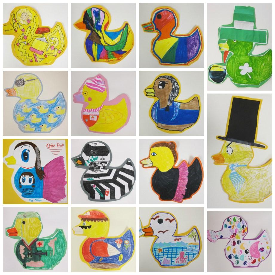 Rubber Ducky Art Project For Kids Art Is Basic An