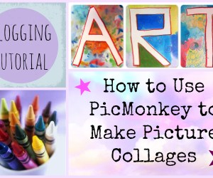 How to Use PicMonkey to Make Photo Collages for a Blog