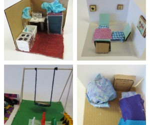 3-D Bedroom Constructions and Perspective