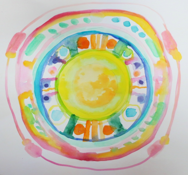 Watercolor Mandala