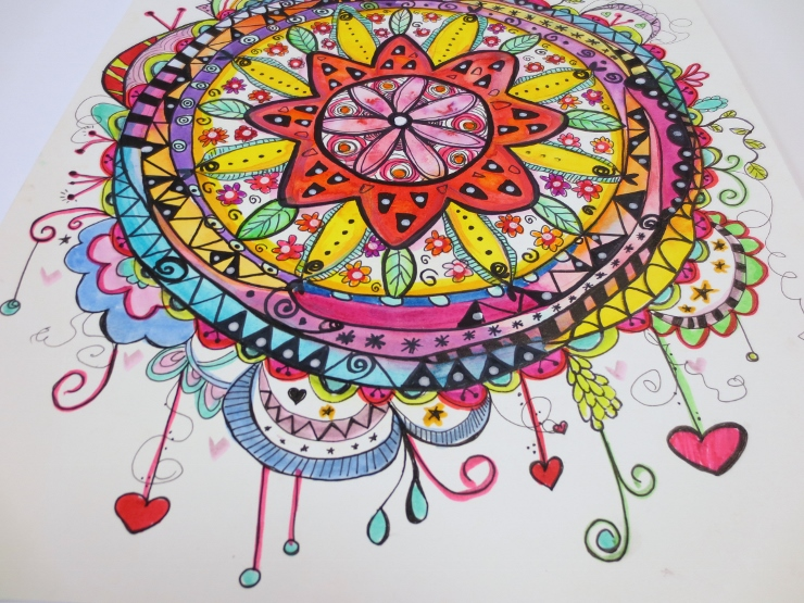 Watercolor Mandala