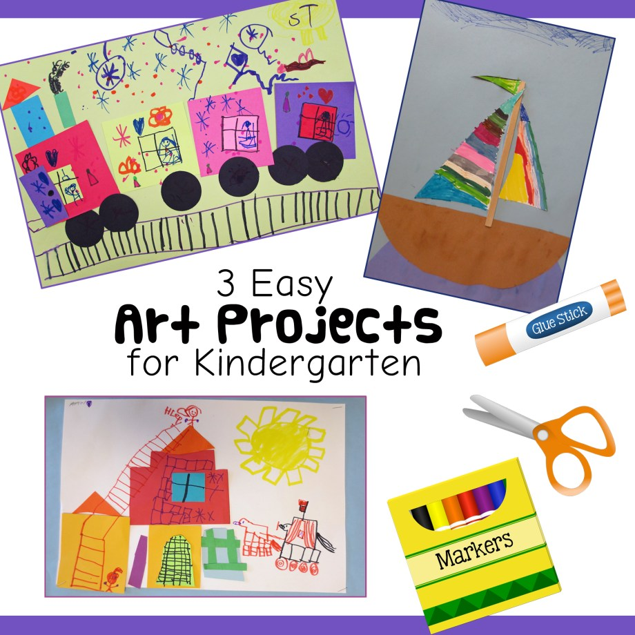 3 fun and easy kindergarten art lessons art is basic an