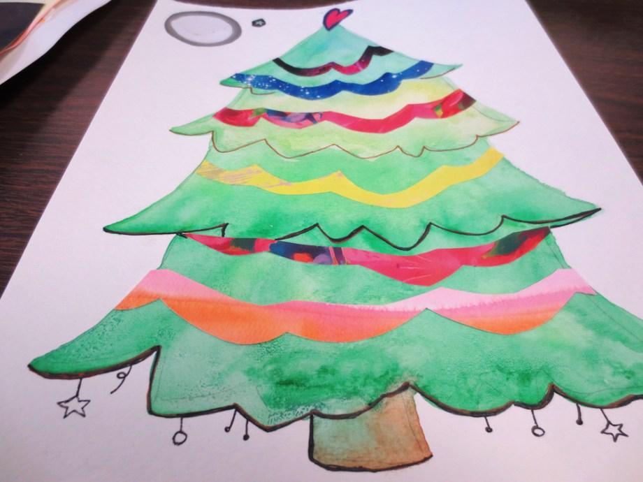 christmas-tree-collage