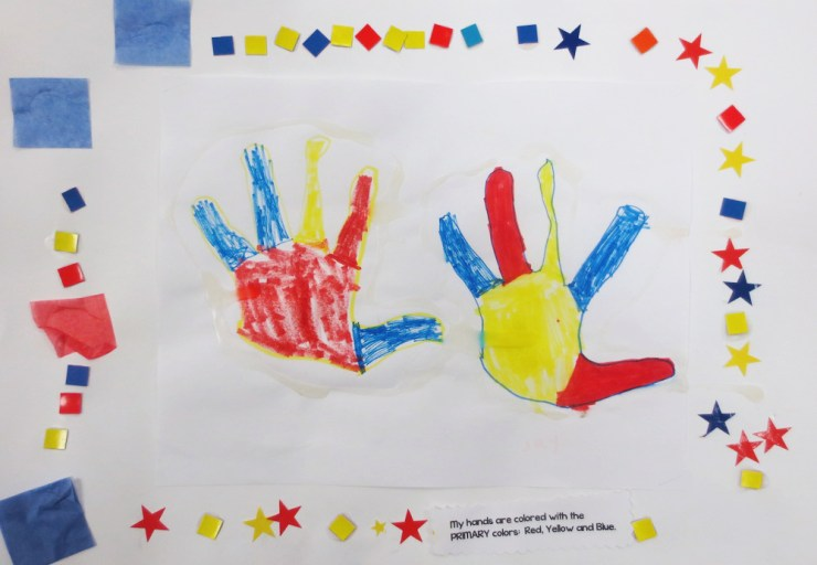 Primary Color Hands 3