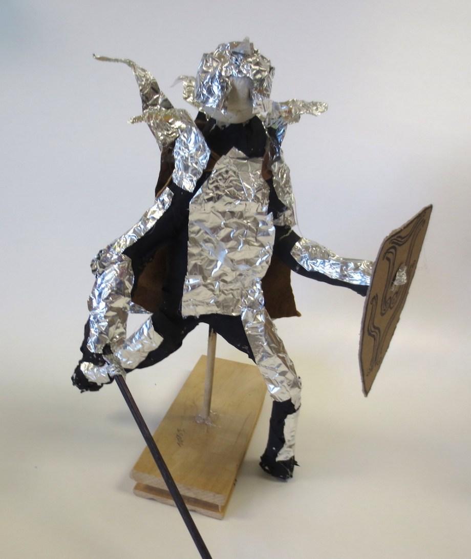 00005Paper Mache Knights