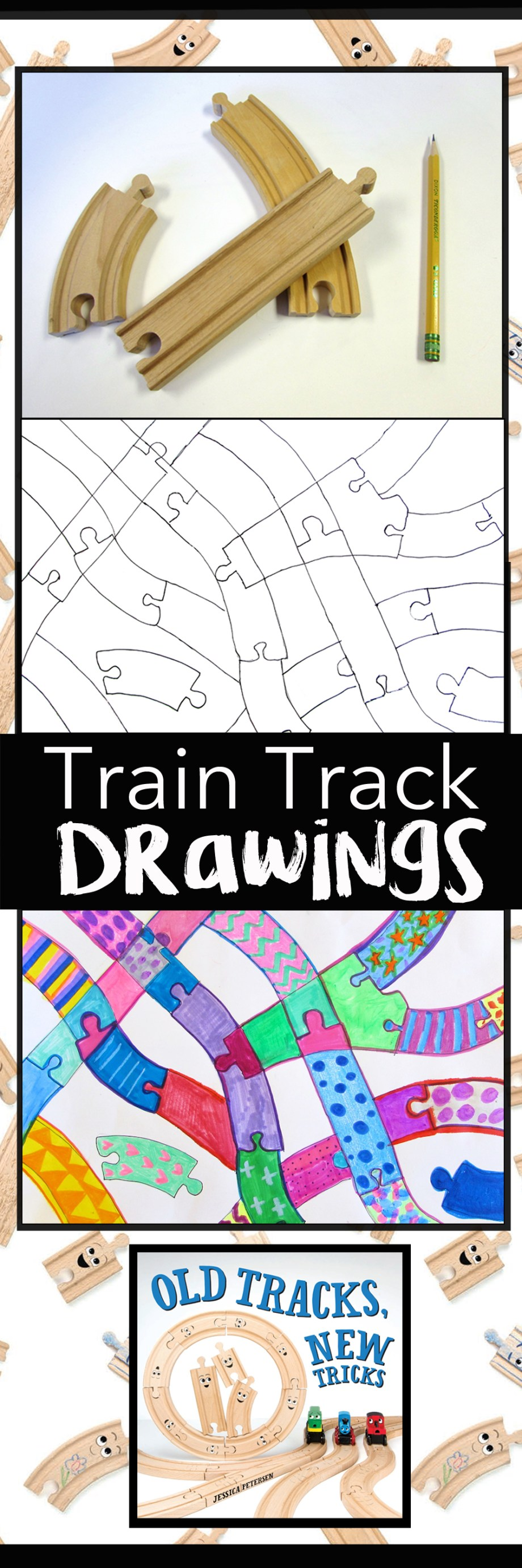 Train Track Drawings