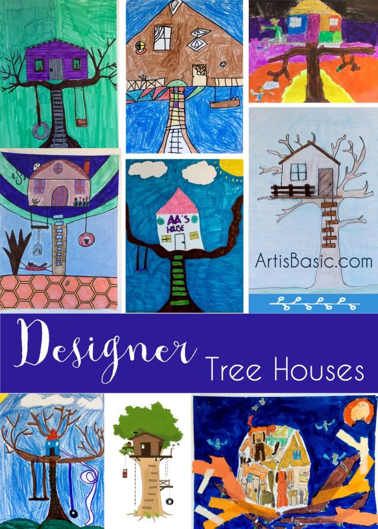 Tree house drawings