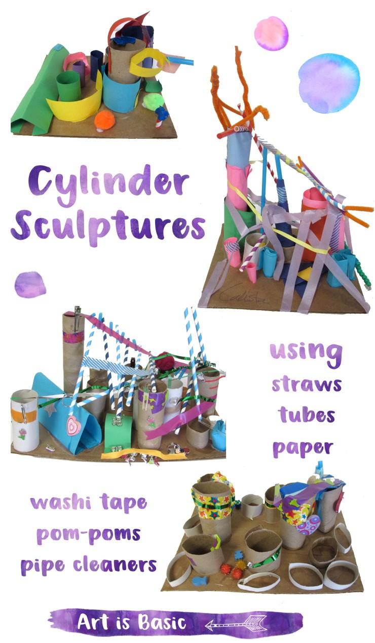 Cylinder Sculptures