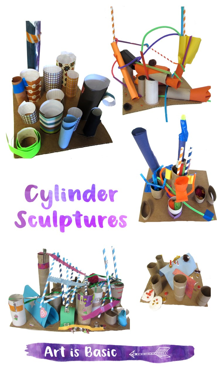 Cylinder Sculptures for Kids