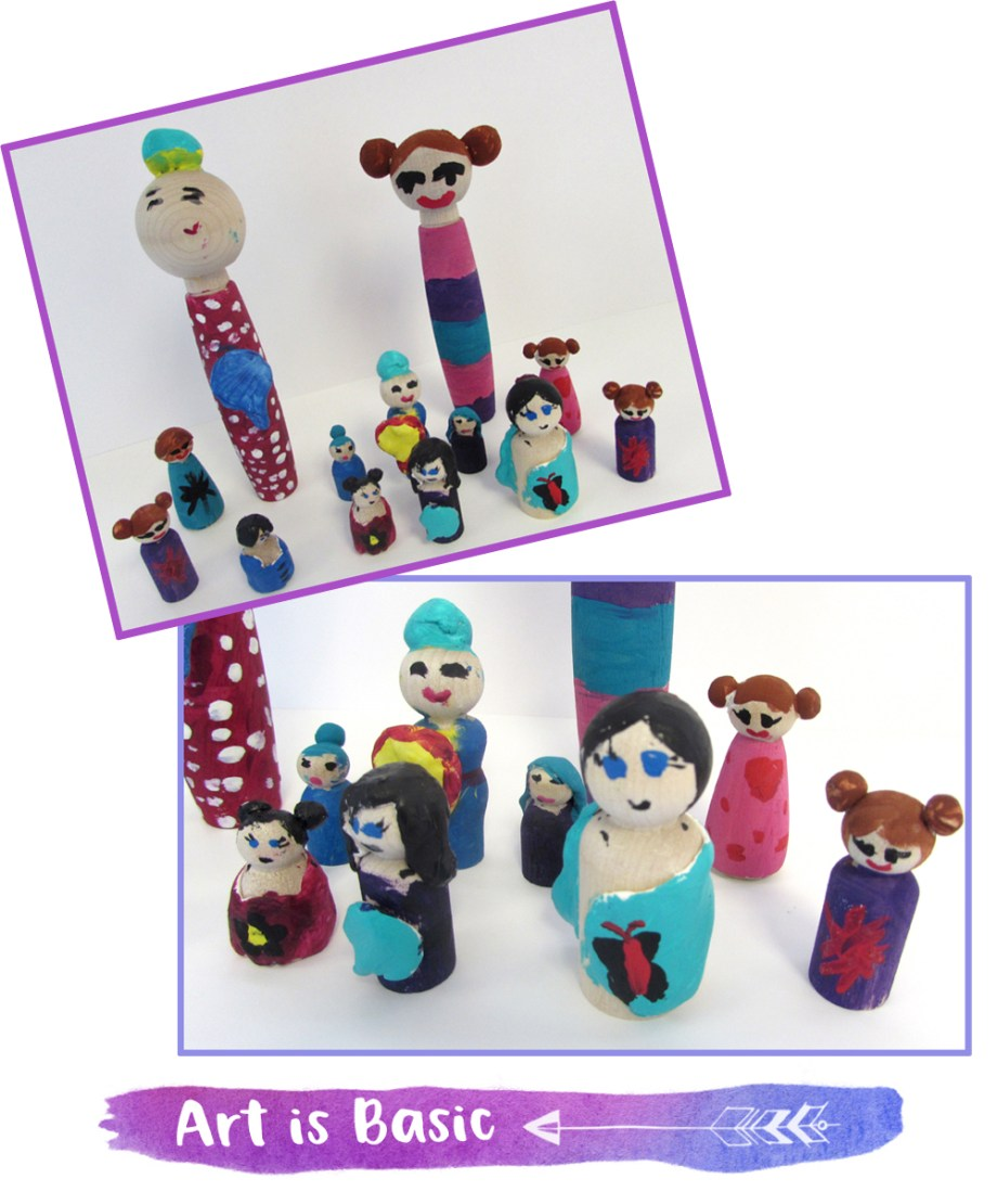 Kokeshi Doll Art Project