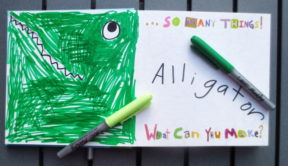 beautiful oops journal alligator
