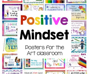 Positive Mindset Posters