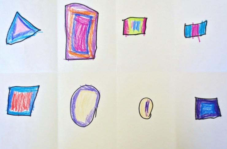 Kindergarten Shape Art Project00004