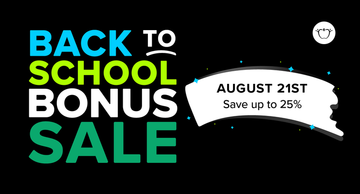 Flash Back to School Sale & $10 Gift Card Contest – Art is