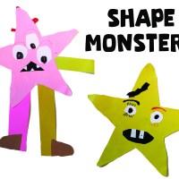 Shape Monsters Art Project