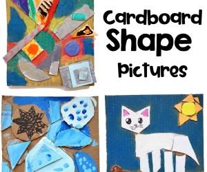 Cardboard Shape Art Project