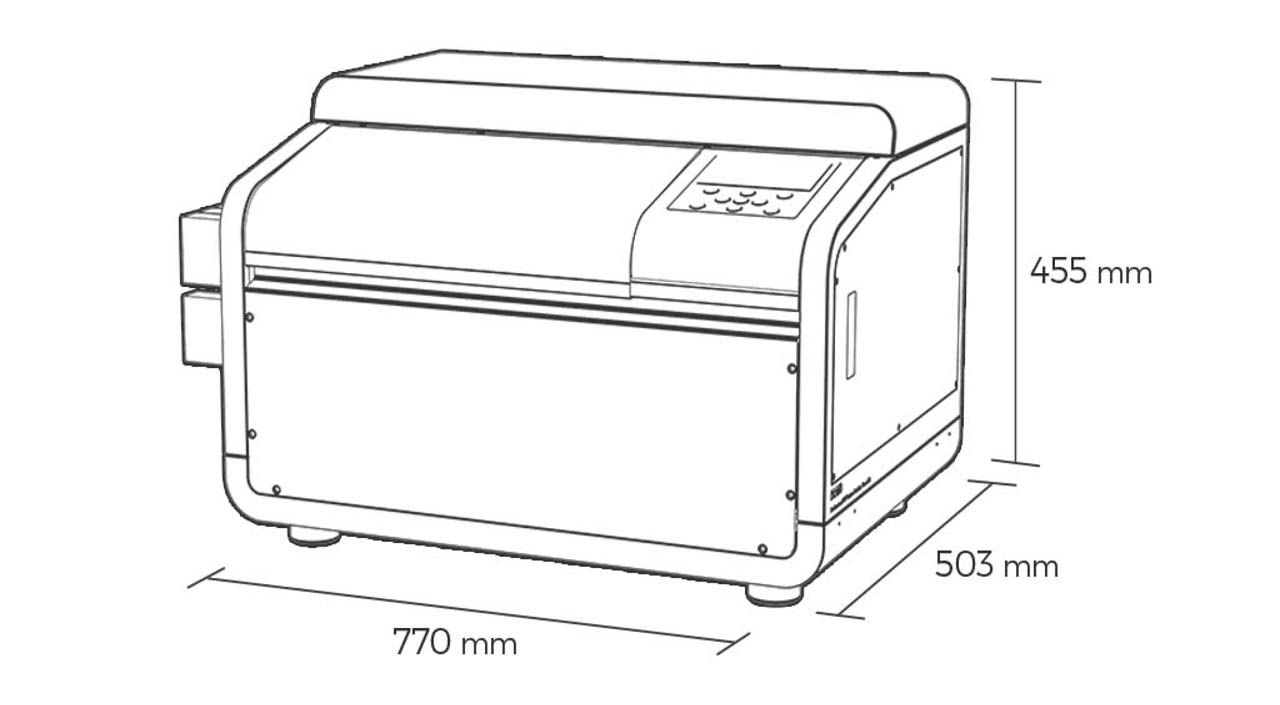 artisJet proV6 mini UV LED printer