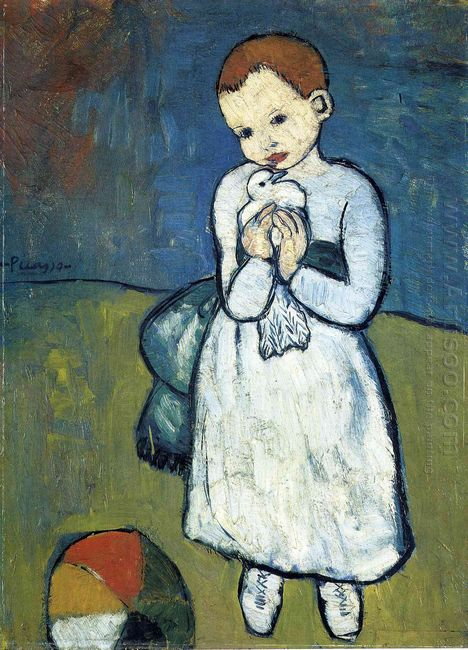 Child With Dove 1901