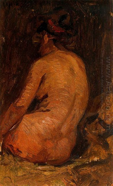 Female Nude From Back 1895