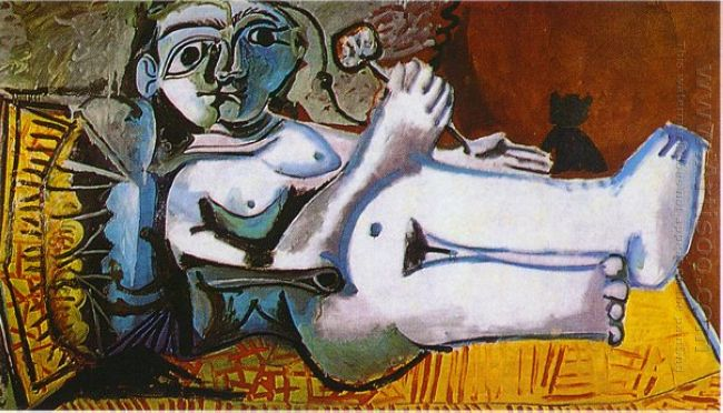 Lying Female Nude 1964