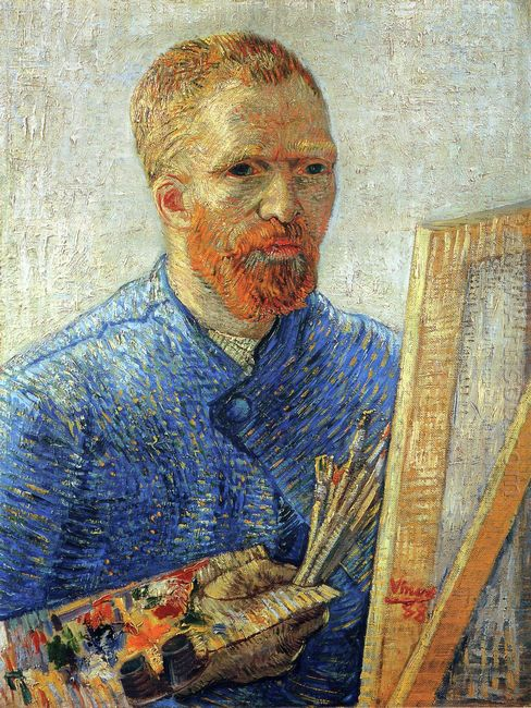 Self Portrait As An Artist 1888
