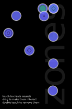 Zones, iPhone granular synthesis at your fingertips