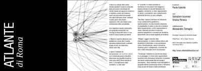 the brochure of the Atlante delle Visioni