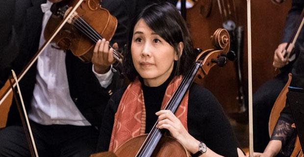 Istri Ahok Tampil Mempesona Bermain Cello Dengan Twilite Orchestra