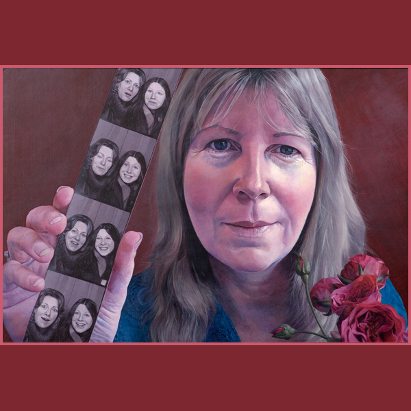 Self Portrait 'Remembering Mum'