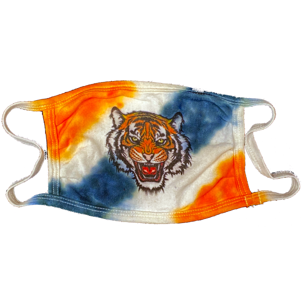 BHS World Language HS Mask – Tie Dye