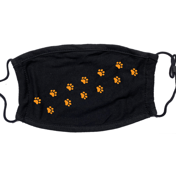 BHS World Language HS Mask – Paw Prints