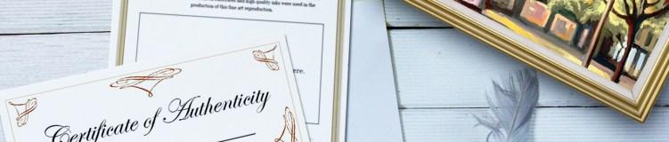 12 consigli per creare un Certificato di Autenticità (e vendere più facilmente)