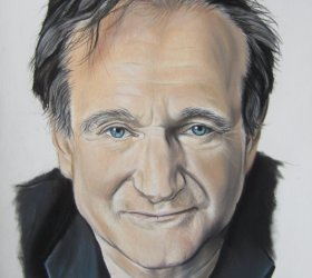 portrait-pastel-robin-williams