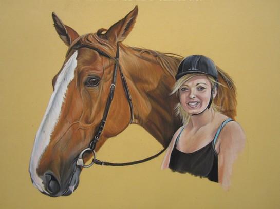 cheval cavaliere pastel