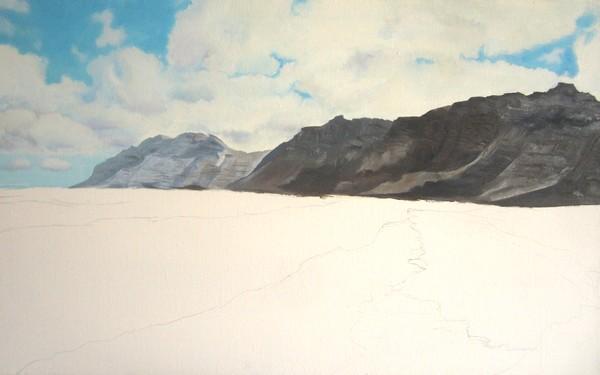 peindre les falaises