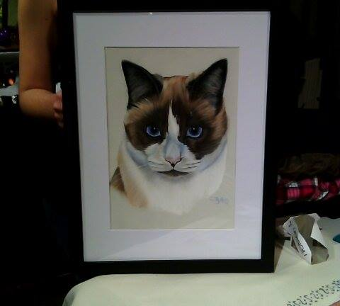 pastel de chat