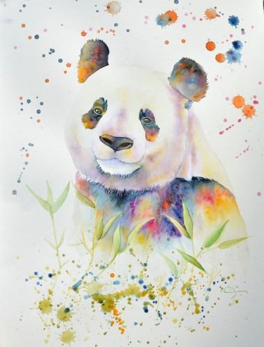 panda-aquarelle
