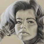 portrait de romy shneider