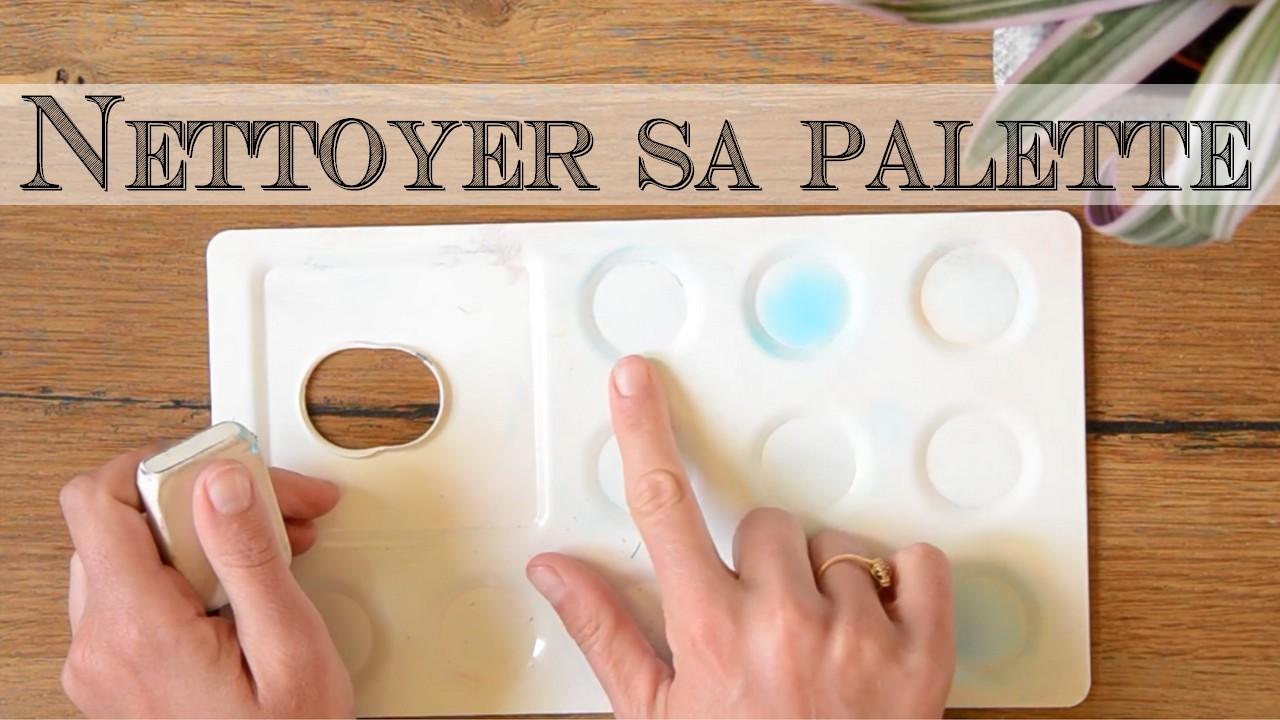 Enlever Les Traces De Peinture De Sa Palette