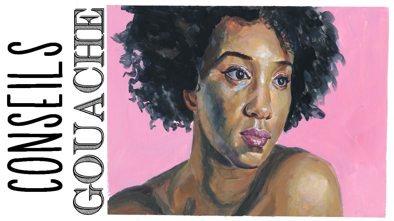 Portrait A La Gouache