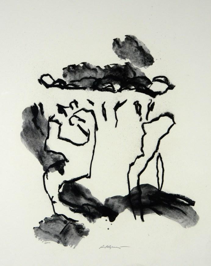 Artistes Occitanie-Alquier Alain.50x40cm.2020.