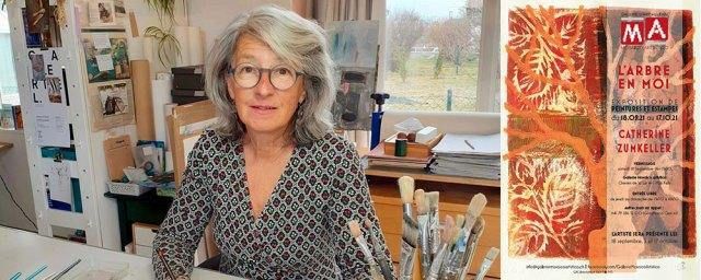 Catherine Zumkeller expose à la Galerie Mosaïco Artistico