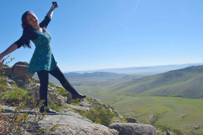 natasha Raymond in Mongolia