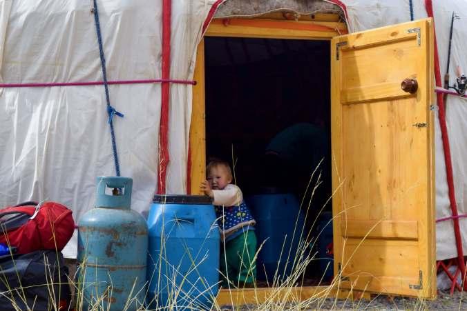 Ger living Mongolia