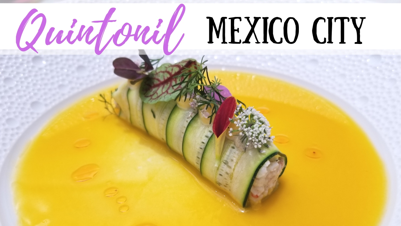 A fluta dish from Quintonil