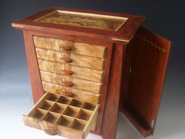 Handmade Wooden Jewelry Box Plans