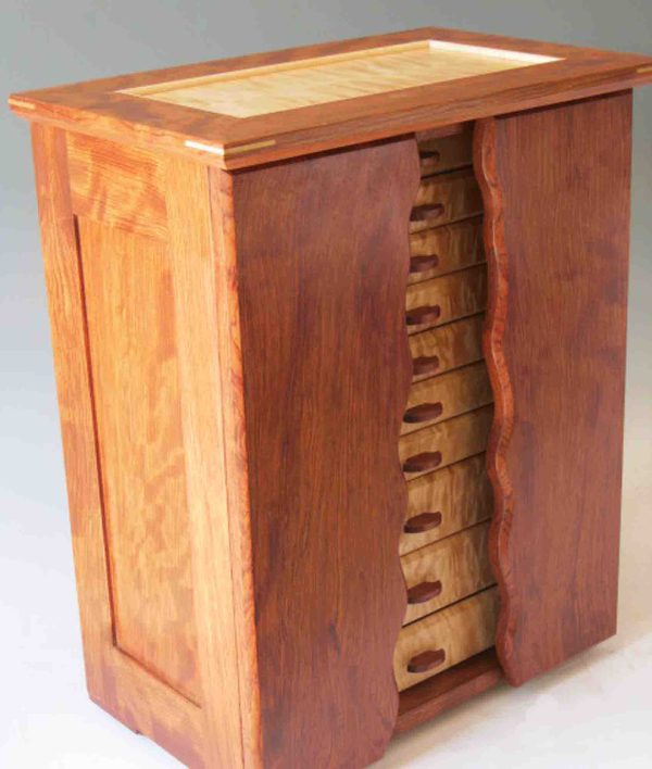 Wooden Jewelry Boxes for Necklaces